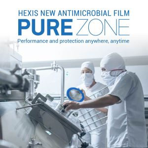 HEXIS PURE ZONE ANTI-MICROBIAL FILM