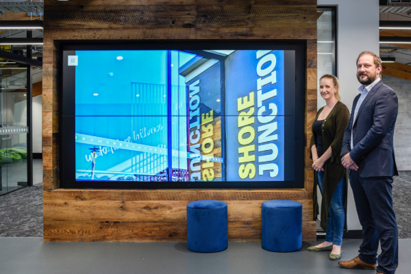 Shore Junction Opens with Samsung Digital Signage