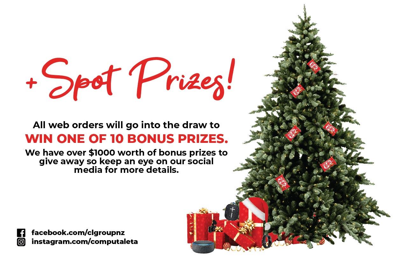 Spot Prizes