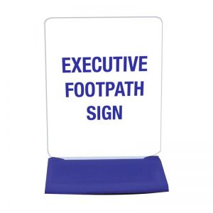 EXECUTIVE FOOTPATH SIGN BASES