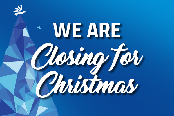 Closing for Christmas