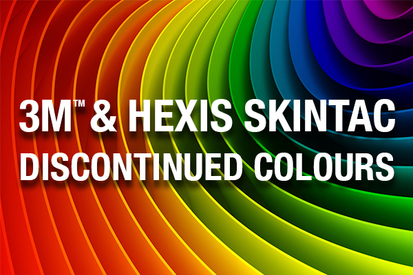 3M & Hexis Discontinued Colours