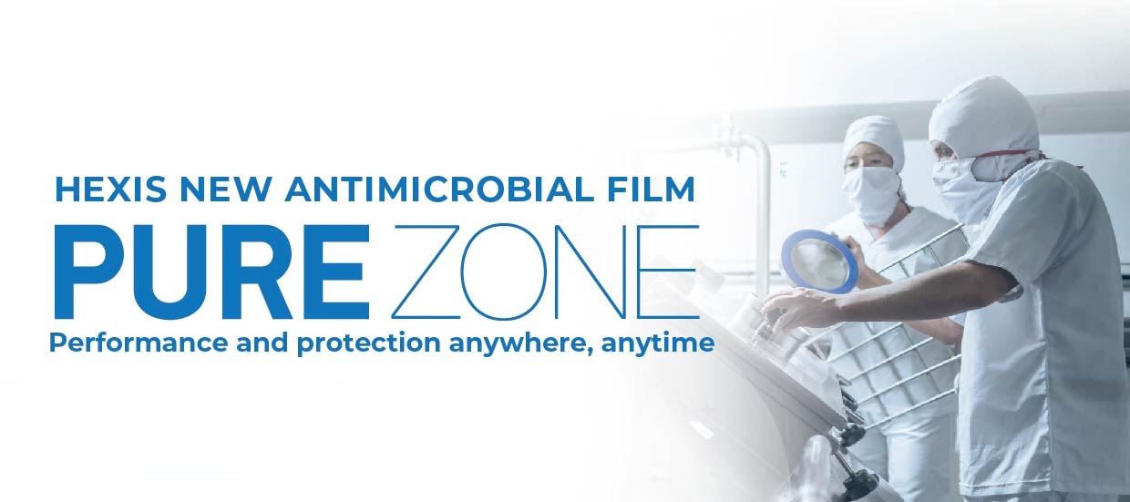 HEXIS Pure Zone Antimicrobial Film
