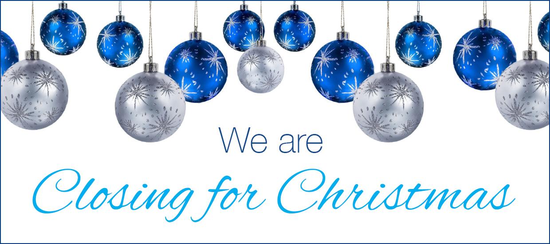 Christmas Closing Hours For 2017