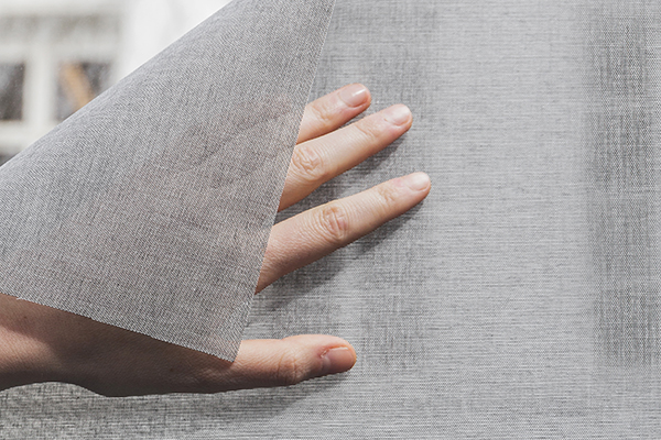 SQUID: The world's first transparent self adhesive window fabric
