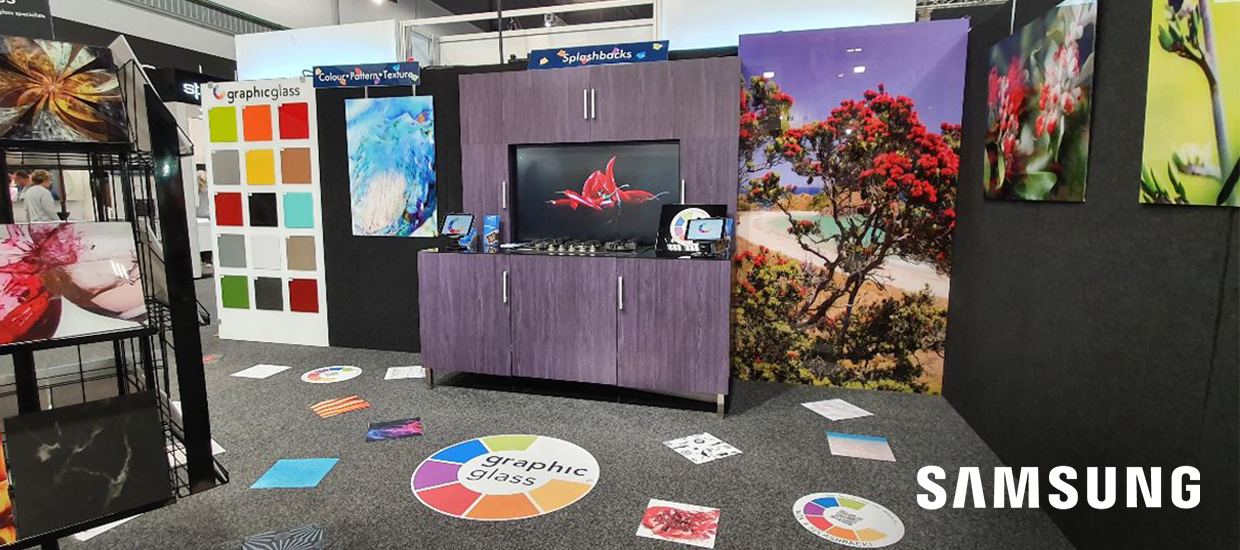Samsung Touch hits the Auckland Home Show