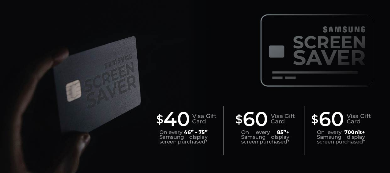 Samsung Screen Saver Promo